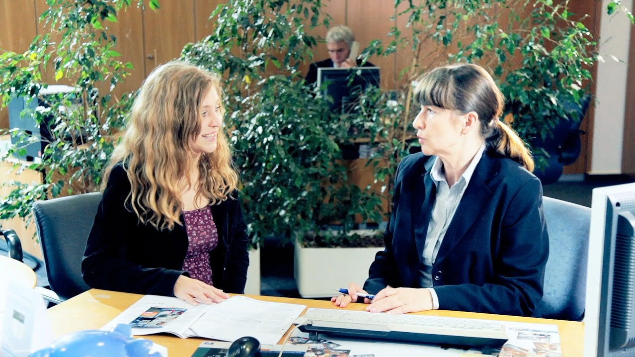 tecmotion - Imagefilm der Volksbank Halle, Kundenberatungsgespräch