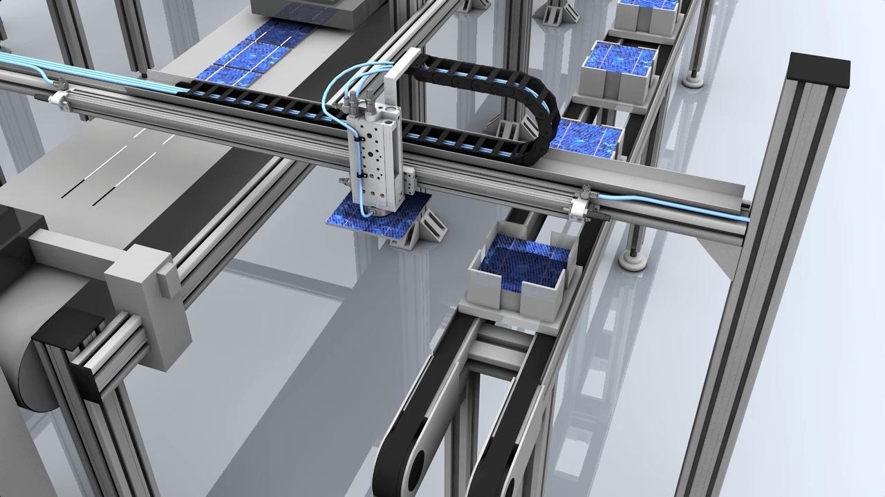 tecmotion - Produktanimation Pneumatik AVENTICS, Prozessdarstellung, Abb. 2