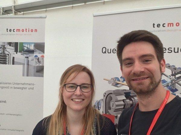 tecmotion-Teilnahme an der Firmenkontaktmesse 2018 der HS Anhalt, Köthen