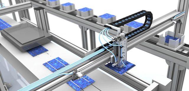 tecmotion - technische 3D-Animation Pneumatik-Komponenten, Prozessablauf