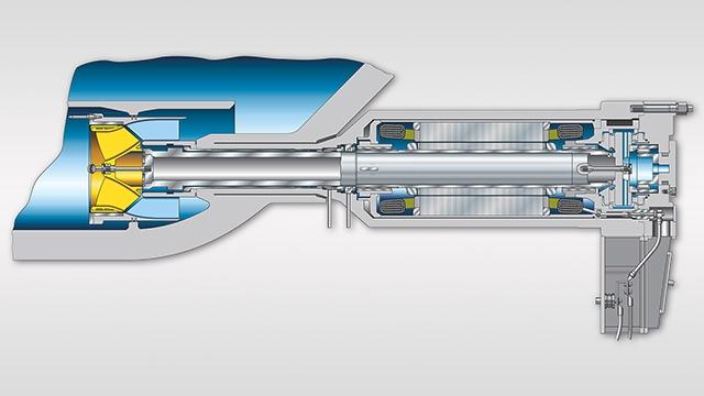 tecmotion - Beispiel für eine technische Grafik, Produktquerschnitt