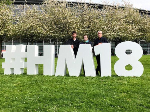 tecmotion - zu Besuch auf der Hannover Messe 2018