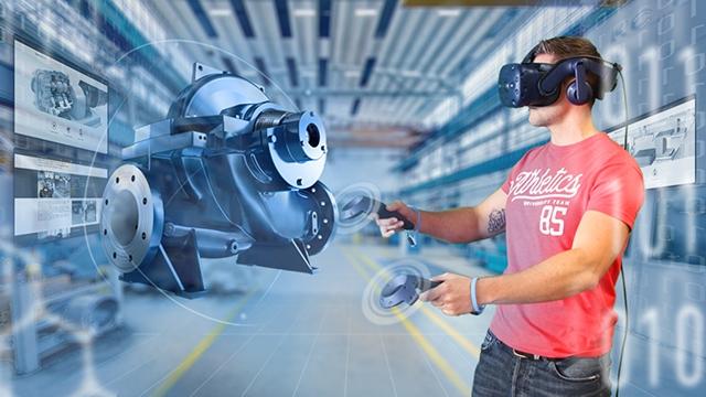 tecmotion - Beispiel für eine VR-Anwendung