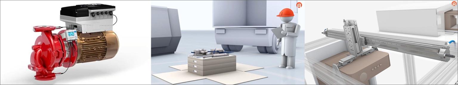 tecmotion - Ausschnitte aus verschiedenen 3D-Produktanimationen
