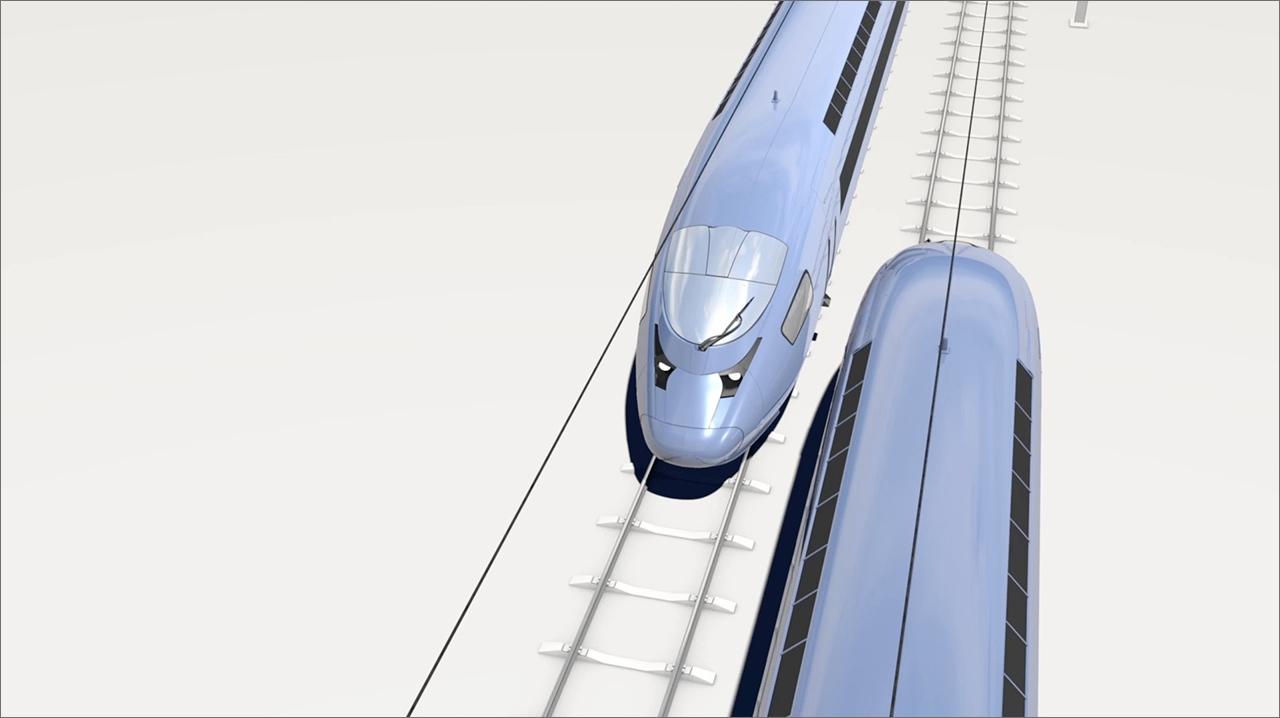 tecmotion - 3D-Animation eines Zuges für einen Produktfilm von AVENTICS, Abb. 1