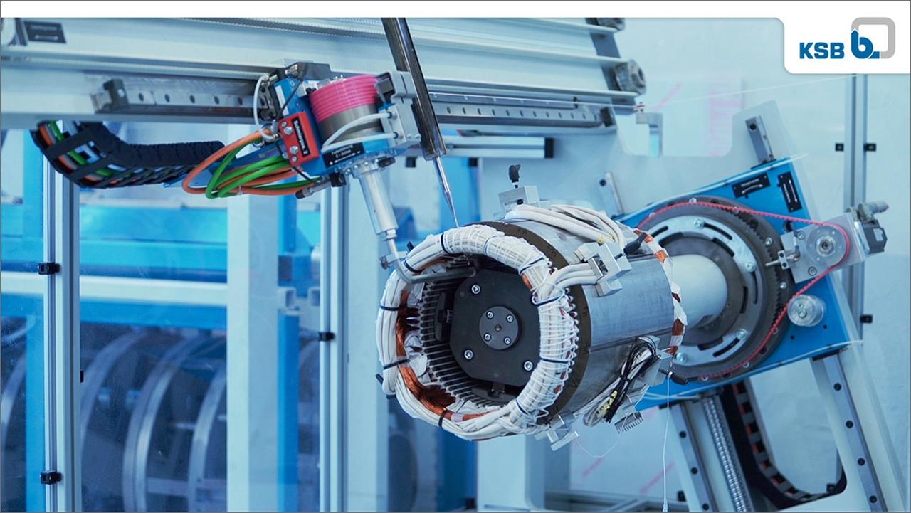 tecmotion - Abbildung aus dem Standortfilm von KSB Halle, Marketingfilm