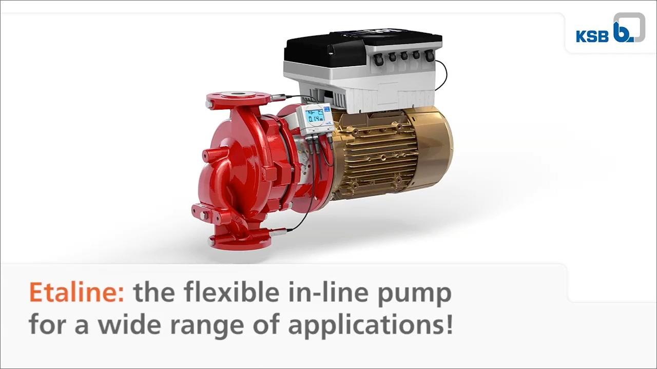 tecmotion-Ausschnitt 01 aus Produktanimation zur Pumpe Etaline von KSB