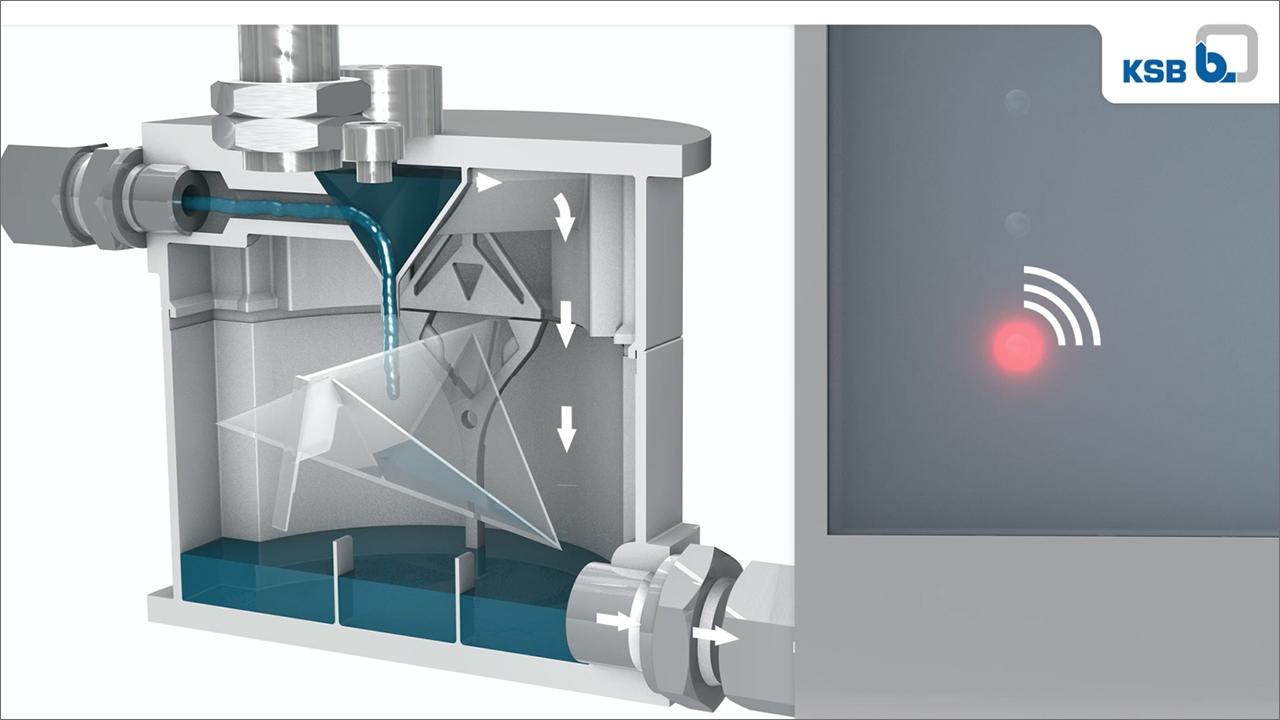 tecmotion - 3D-Animation der Pumpe Etanorm SYT von KSB für Messe, Abb. 03