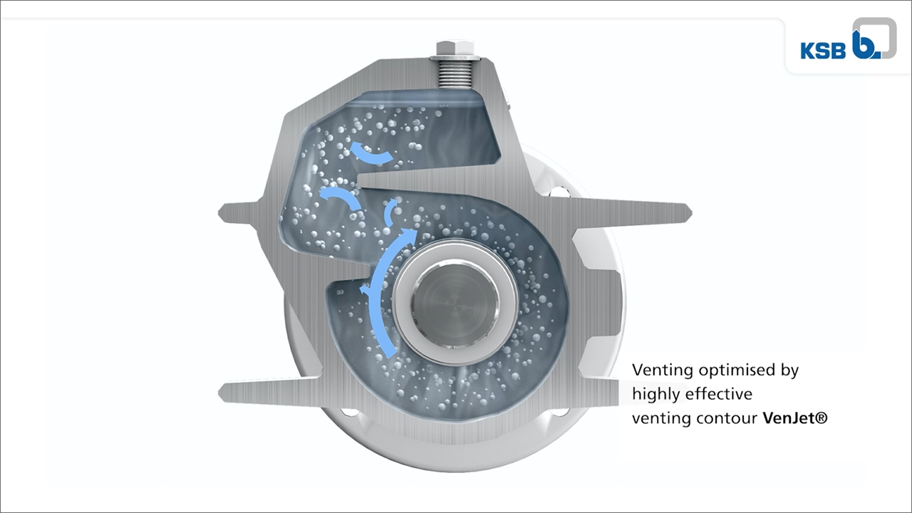 tecmotion - 3D-Animation der Pumpe Etanorm SYT von KSB für Messe, Abb. 04