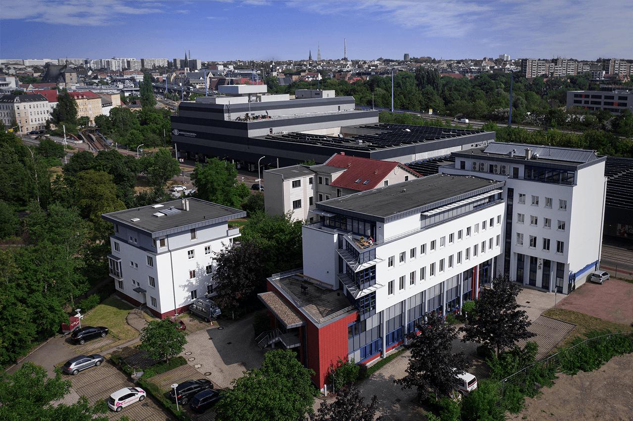 tecmotion - Unternehmenssitz in Halle (Saale), Mansfelder Straße 48