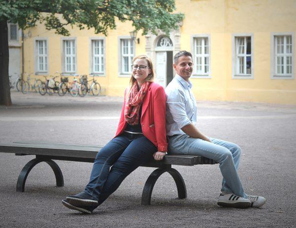 tecmotion - Neue Mitarbeiter Franziska Riege (Assistenz) und Tomás Pozsa (Realisation)