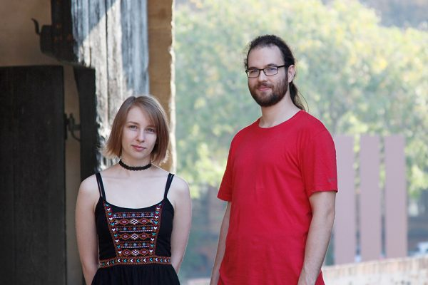 tecmotion - Neue Mitarbeiter Elisabeth Ackermann (Realisation) und Max (Praktikant 3D und VR)
