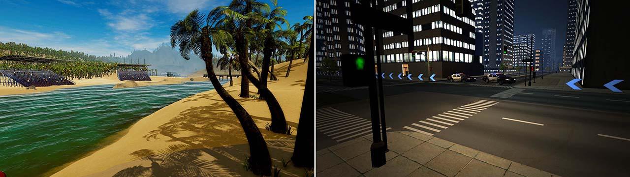 tecmotion - Corporate Games CityBoard (rechts) und SurfBoard (links)- Spielausschnitte 2