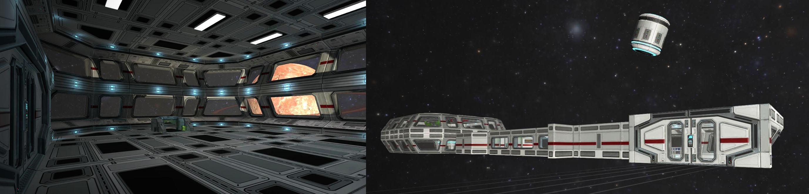 tecmotion - Neues Corporate Game mit VR-Brille; SpaceBoard - Spielausschnitt 2