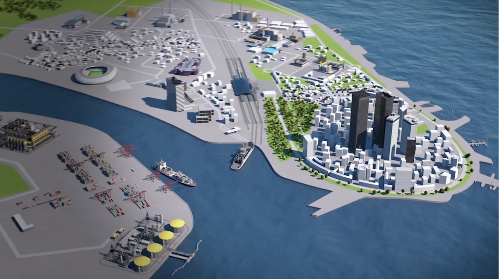tecmotion – Virtuelle 3D-City für Emerson, Auschnitt 1